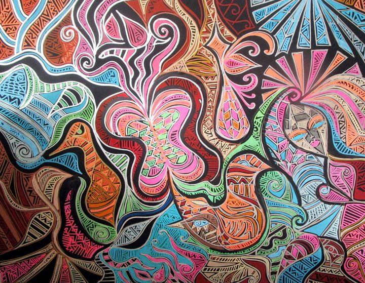 Psychedelic Flight - RonnieGreenspan