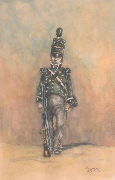 British 95th Regiment of Foot 1815 - Sotiris Anastasiou