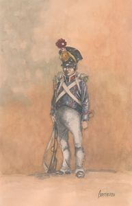 French Infantry Legere Chasseurs 181