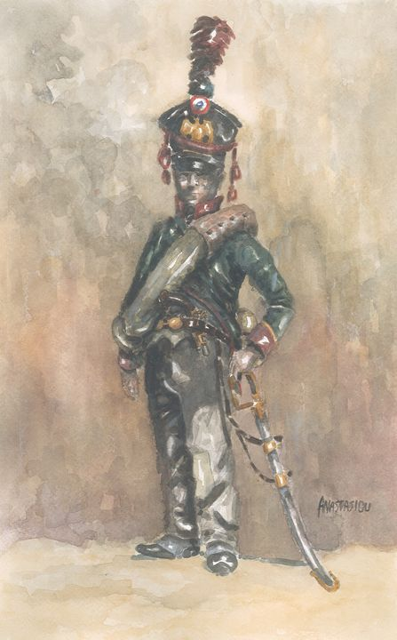 French 7th Regiment of Hussars - Sotiris Anastasiou