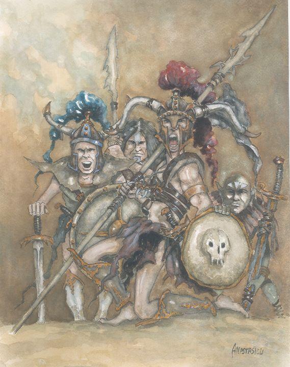 Ancient warriors - Sotiris Anastasiou