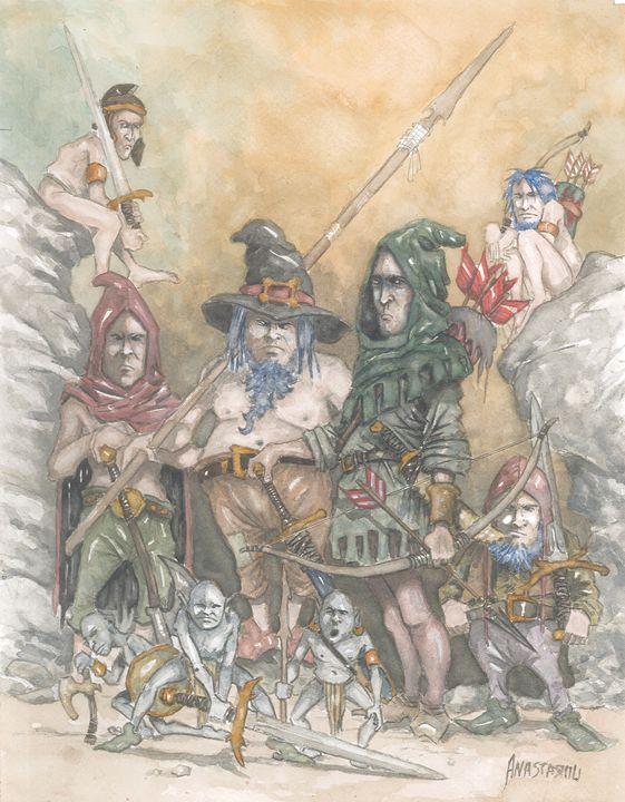 Dwarfs, goblins, elves... - Sotiris Anastasiou