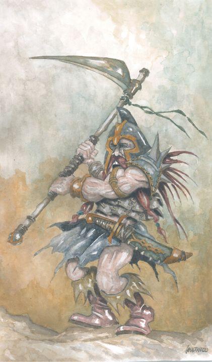 Dwarf warrior - Sotiris Anastasiou