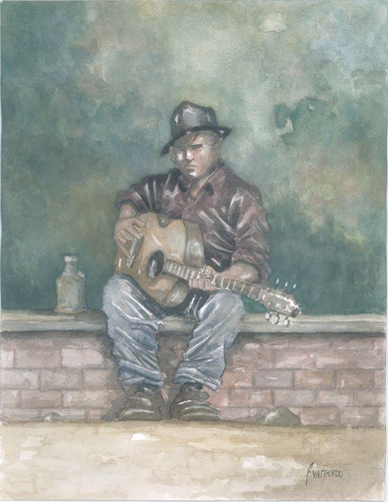 The street musician - Sotiris Anastasiou