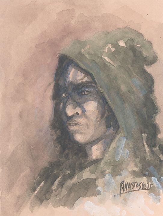 Hooded assassin - Sotiris Anastasiou