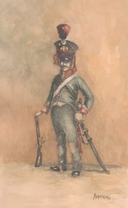 French Cavalry Scout 1812