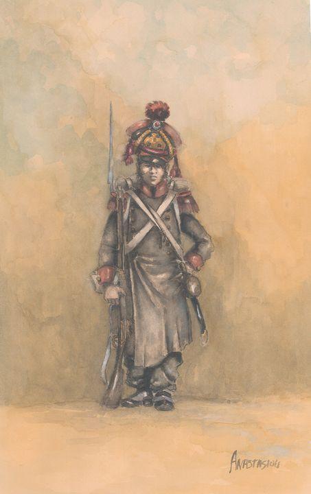 French Line Infantry 1815 - Sotiris Anastasiou