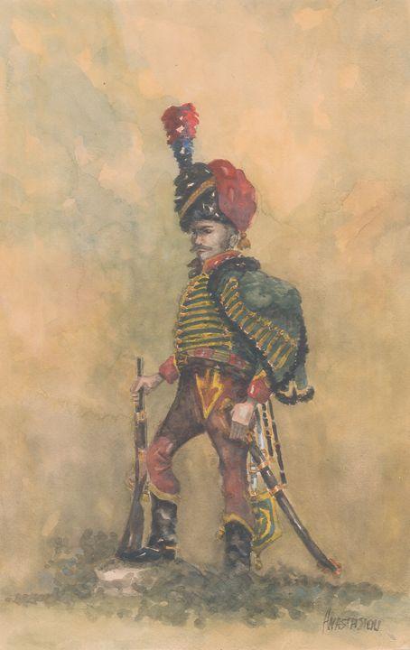 French Hussar 7th Regiment 1815 - Sotiris Anastasiou