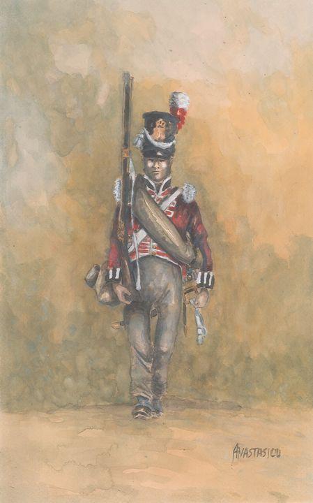British Line Infantry 1815 - Sotiris Anastasiou
