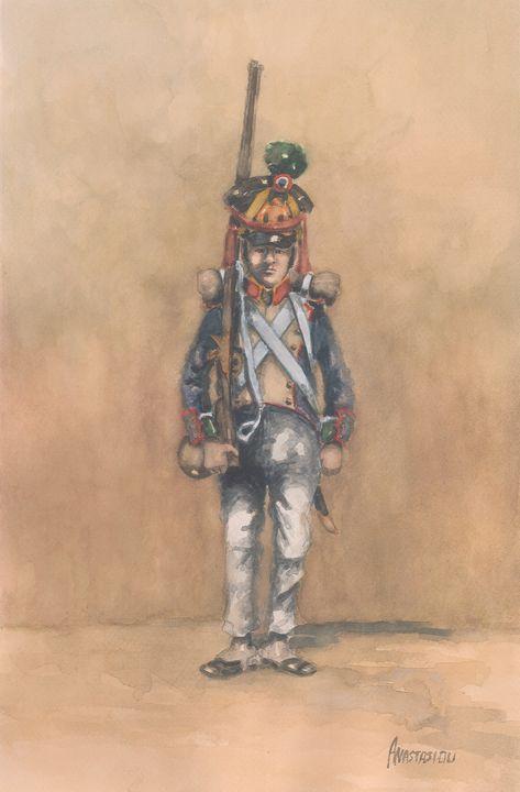 French Infantry Regiment of Fusilier - Sotiris Anastasiou