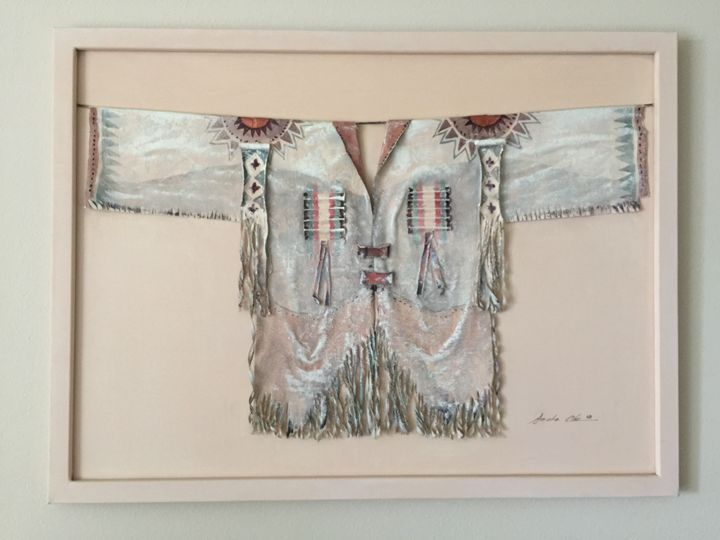 Native American Vest - Cruz's Art