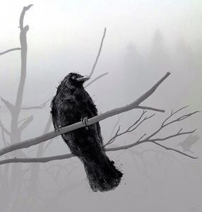 Crow in the Mist - Gabrielle ViSix