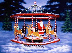 Santa's carousel