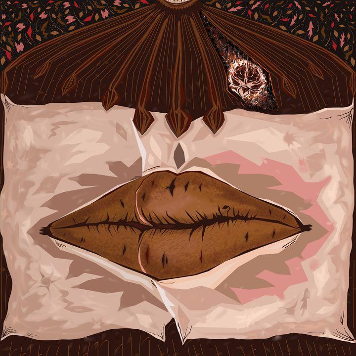 Wheat Kiss - Deep Art