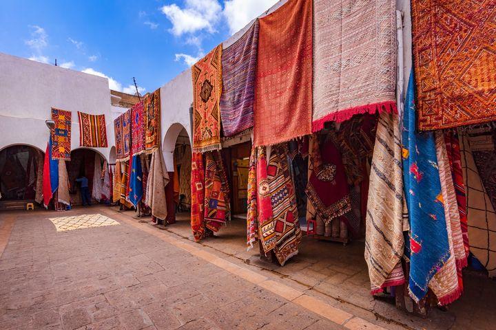 the Carpet Market - Zouhair Lhaloui