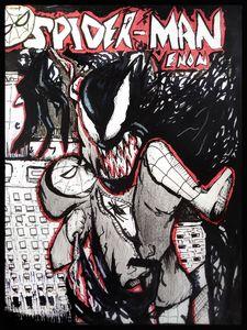 """""""Spiderman Venom"""" Cover for fun"""