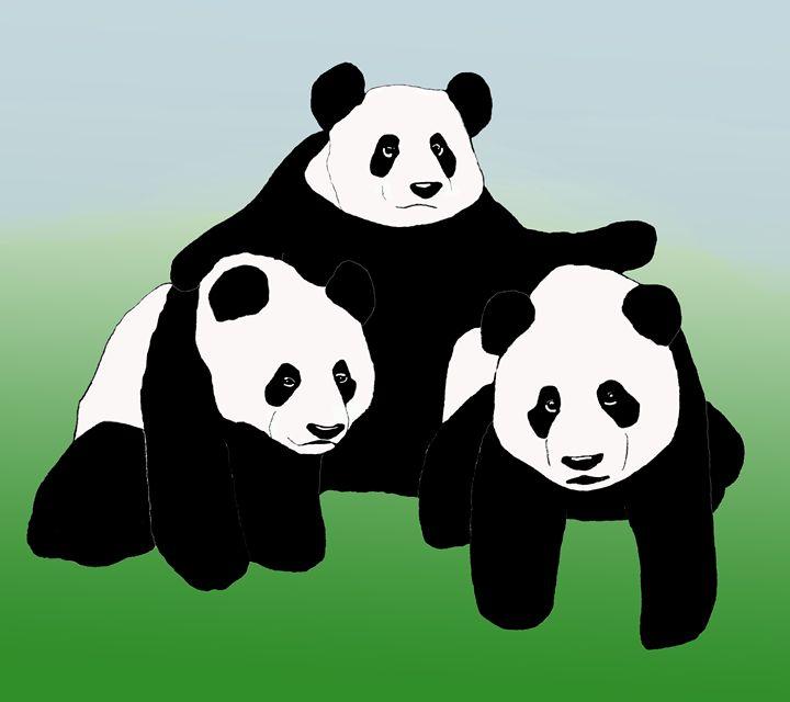 Panda Friends - LJM Memories