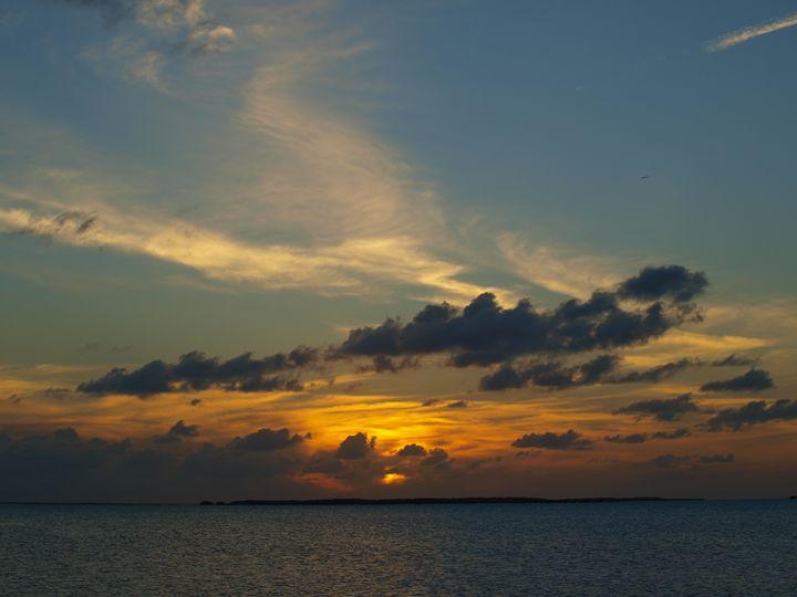 Blue Sunset - LJM Memories