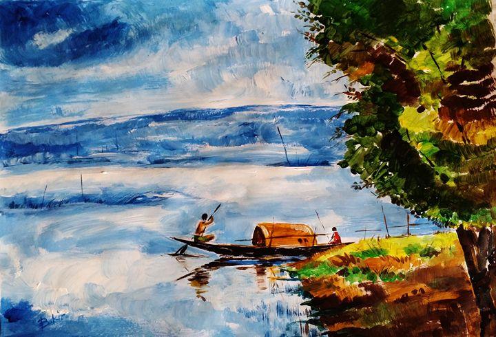 boat - Sarder bakiruddin