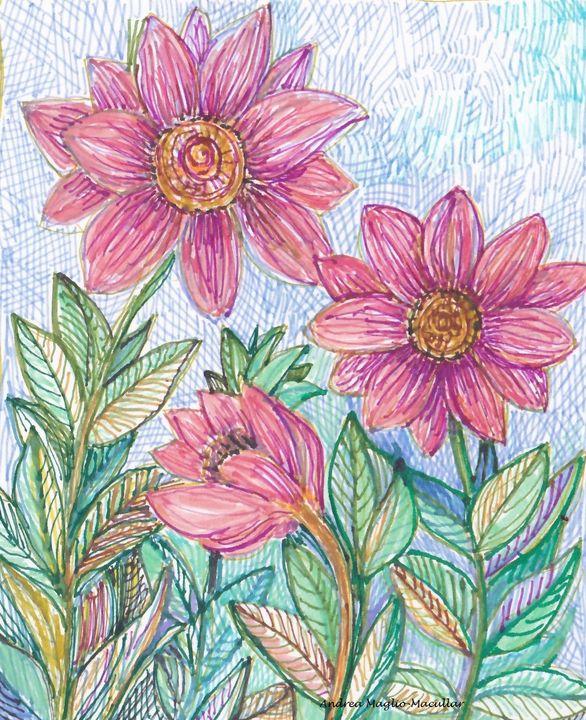 Flower Fantasy - Andrea Maglio-Macullar