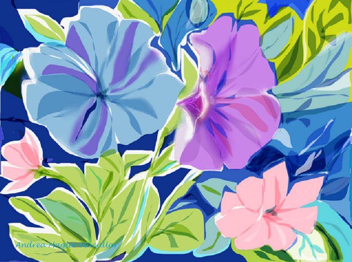 Petunias - Andrea Maglio-Macullar
