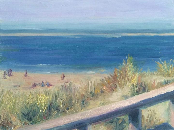 Crane Beach with Sandbar - Andrea Maglio-Macullar