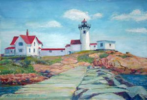 Eastern Point Lighthouse - Andrea Maglio-Macullar