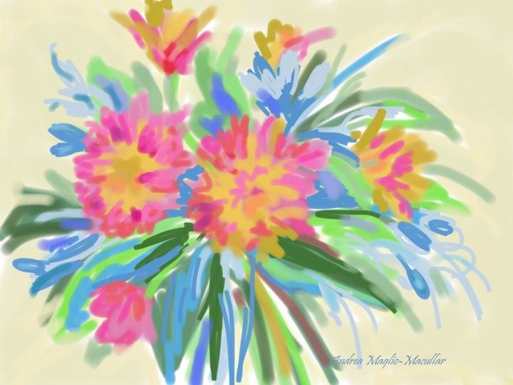 Abstract Floral 3 - Andrea Maglio-Macullar