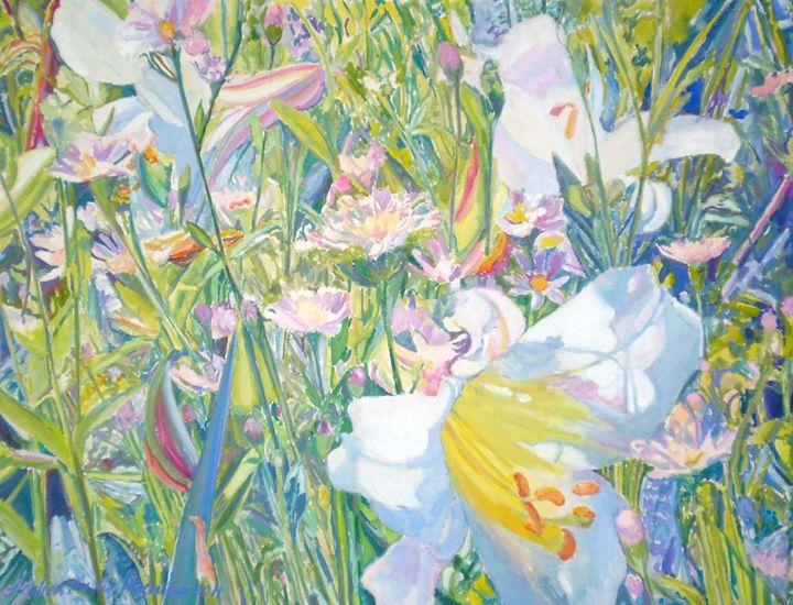 A Lily Garden - Andrea Maglio-Macullar