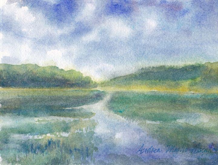 Fox Creek Flood Tide - Andrea Maglio-Macullar
