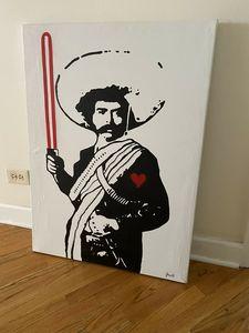 "Original ""Jedi Zapata"" By Jasso"
