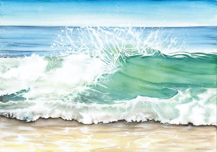 Crashing Wave - Gillian Gilmour