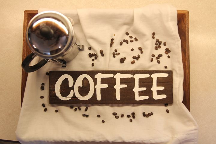 coffee sign - Completeart