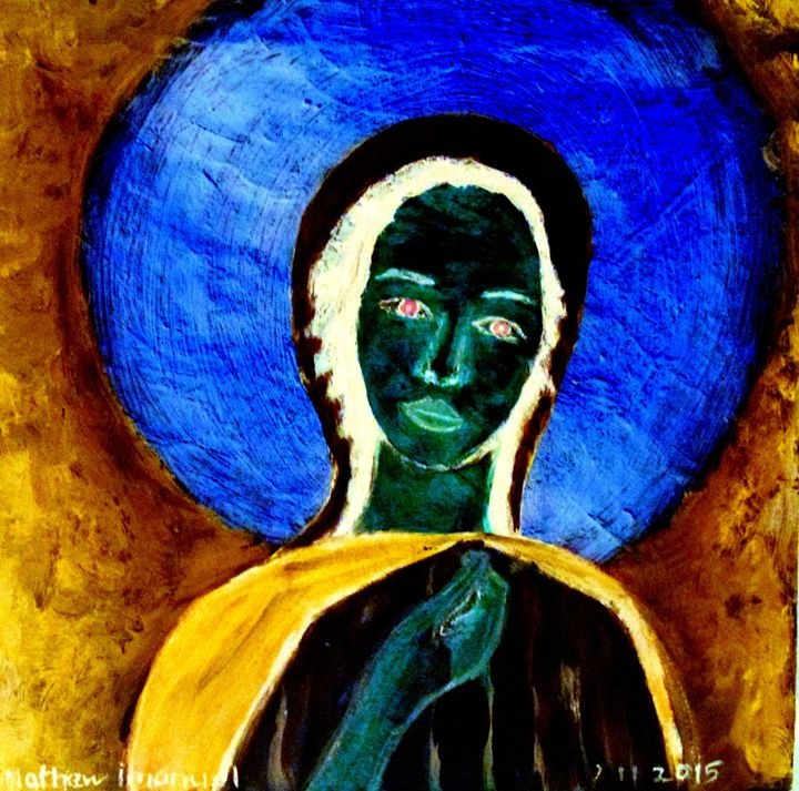 blue maria - Mathew Imanuel
