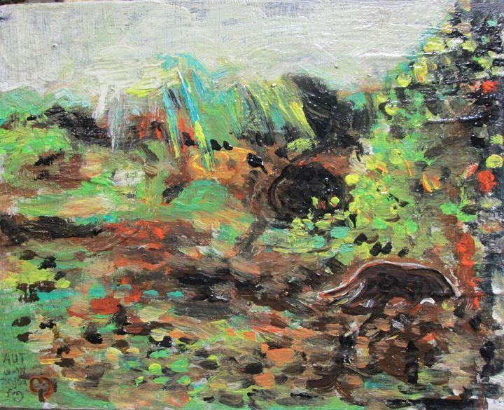 cat grass - Mathew Imanuel