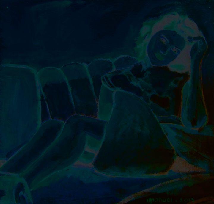 BLue Girl - Mathew Imanuel