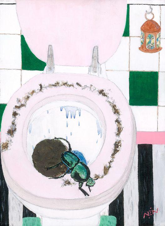 Toilet Duties 'Dung' - NeilArt