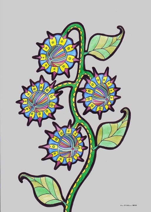 4 Flowers - Ian G