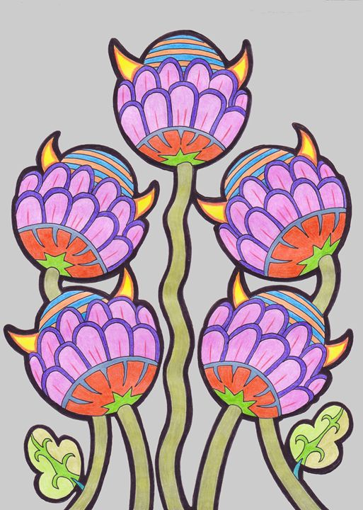 5 Flowers - Ian G