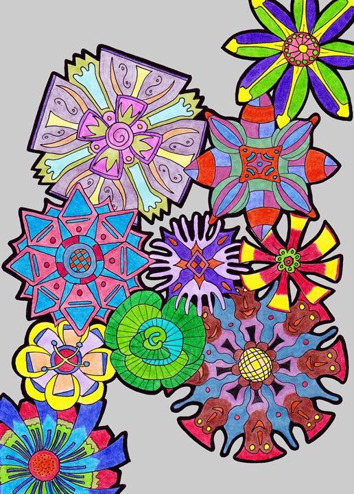 10 Flowers - Ian G