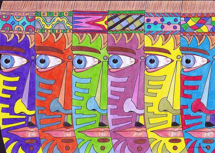 6 Faces - Ian G