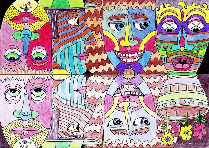 7 Faces - Ian G