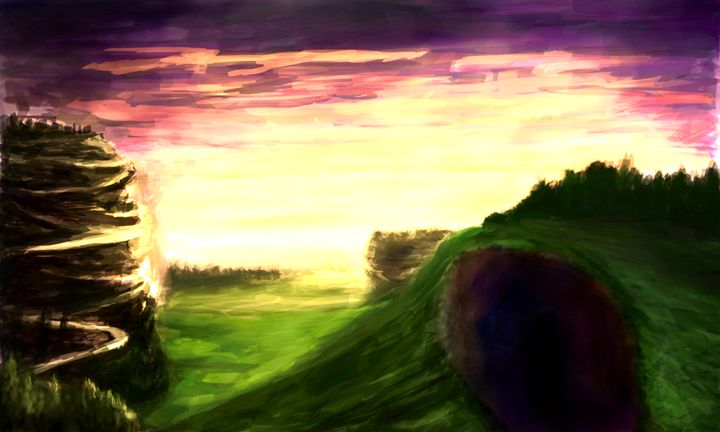 Sunset at Last - Fine Art by Kyle