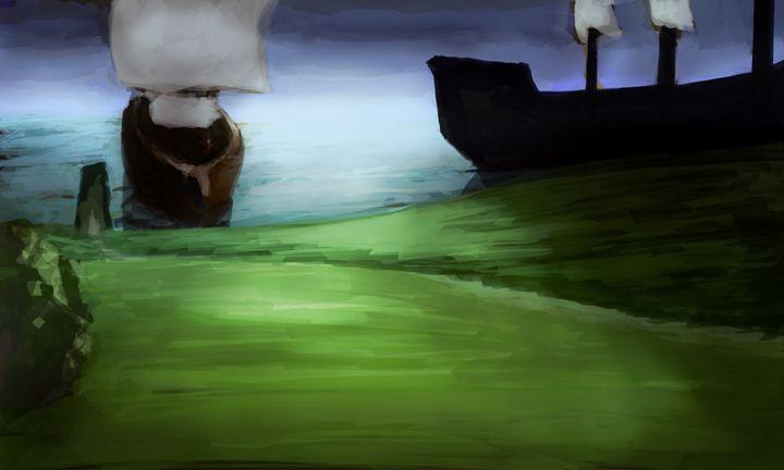 Voyage - Fine Art by Kyle