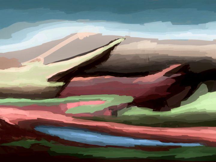 Scattered Landscapes - Fine Art by Kyle