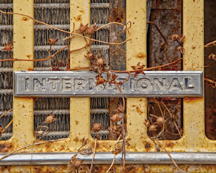 Abandoned International Grill - The Back Roads Photographer