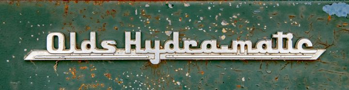 Olds Hydra-matic - The Back Roads Photographer