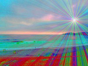 Light on the Rainbow Beach