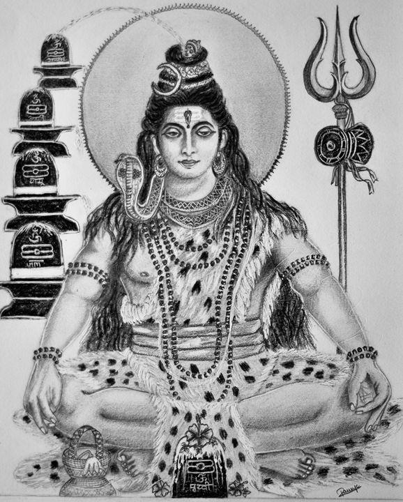 Lord Shiva - Ramzketch