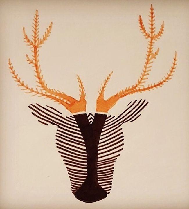 le cerf zébré - Wezalen's gallery